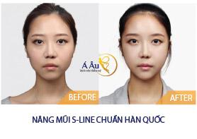 nang mui s line chuan han quoc