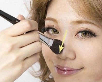Làm nổi sống mũi giúp mũi thấp cao hơn